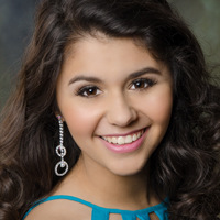 Teen Rio Grande Valley.Head shot.Kathleen Clark
